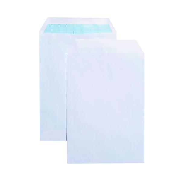White Plain Q-Connect C5 Envelope Pocket Self Seal 90gsm White (150 Pack) KF07558