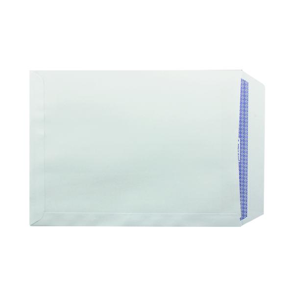 White Plain Q-Connect C4 Envelope Pocket Self Seal 90gsm White (75 Pack) KF07560