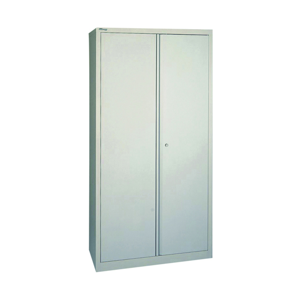 Cupboards H over 1200mm Jemini 2 Door 1950mm Storage Cupboard Grey KF08503