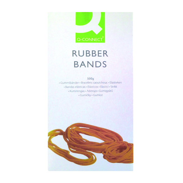 Rubber Bands Q-Connect Rubber Bands No.14 50.8 x 1.6mm 500g KF10523