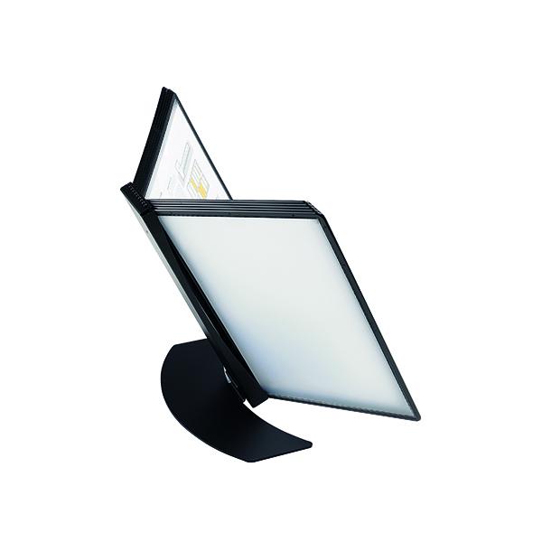 Literature Holders Q-Connect Metal Desk Stand Black KF10687