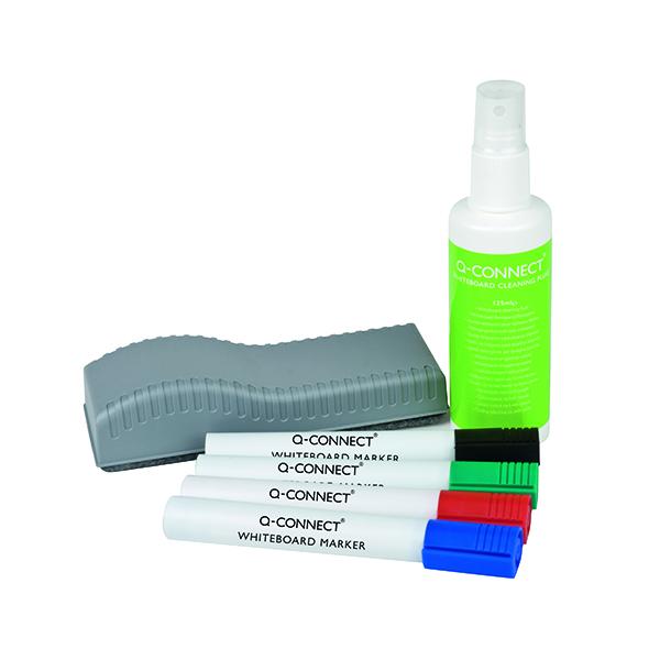 Pen Tray Q-Connect Economy Whiteboard Starter Kit KF10690