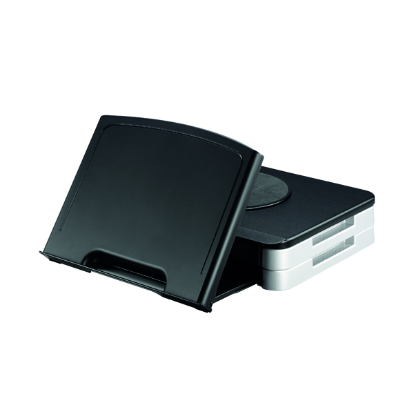 Unspecified Q-Connect Monitor Stand/Copyholder Black KF10700