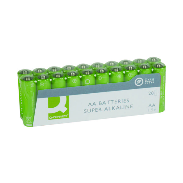 AA Q-Connect AA Battery Economy Pack (20 Pack) KF10848