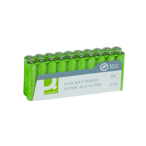 Q-Connect AAA Battery Economy (20 Pack) KF10849