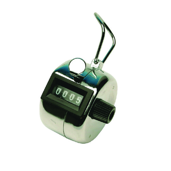 Unspecified Q-Connect Tally Counter Chrome KF10860