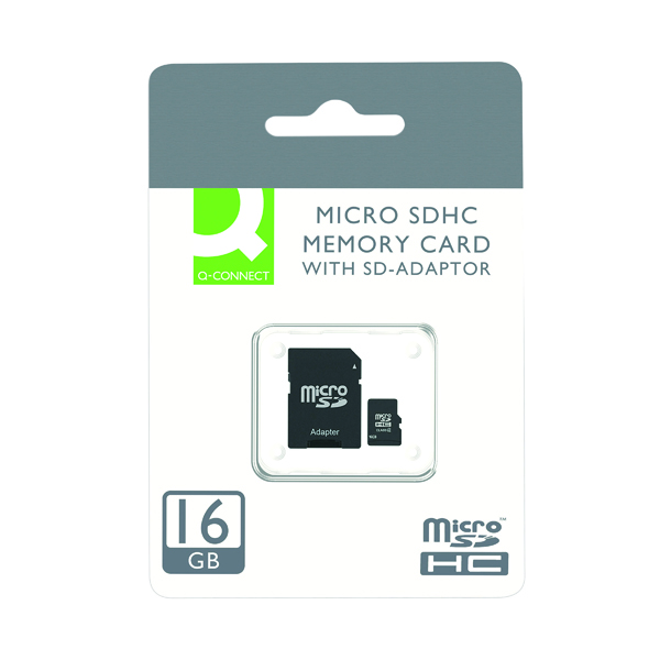 Q-Connect 16GB MicroSD Card Class 10 KF16012