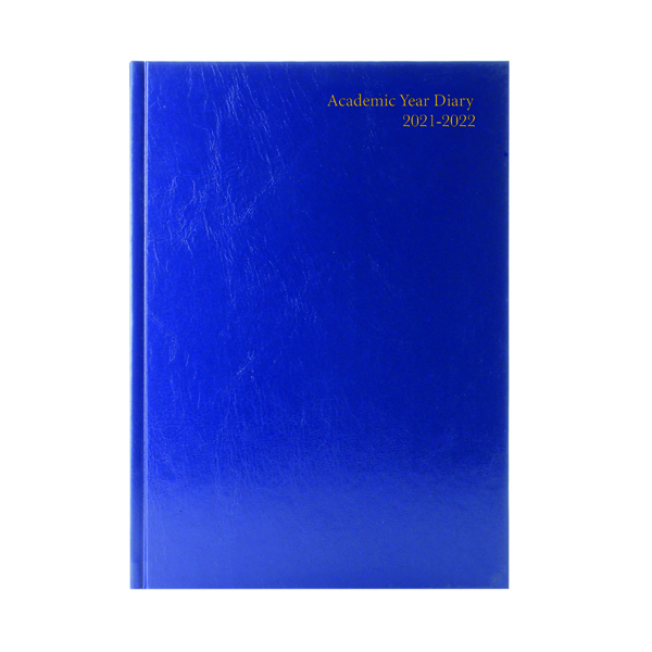 Academic Academic Diary Day Per Page A5 Blue 2021-22 KF1A5ABU21