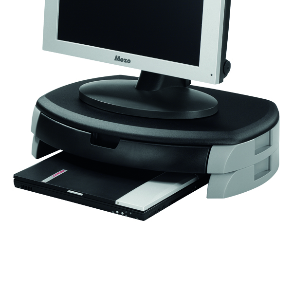 Unspecified Q-Connect Monitor/Printer Stand Black/Grey KF20081