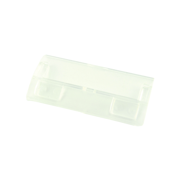 Tabs Q-Connect Suspension File Tabs Clear (50 Pack) KF21002