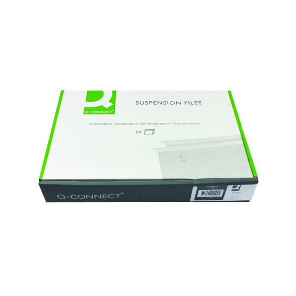 Q-Connect A4 Tabbed Suspension Files (50 Pack) KF21004