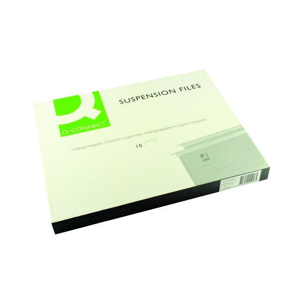 Q-Connect A4 Tabbed Suspension Files (10 Pack) KF21017