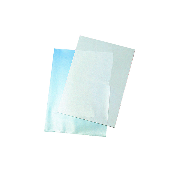 Q-Connect Cut Flush Folders A4 Clear (100 Pack) KF24002