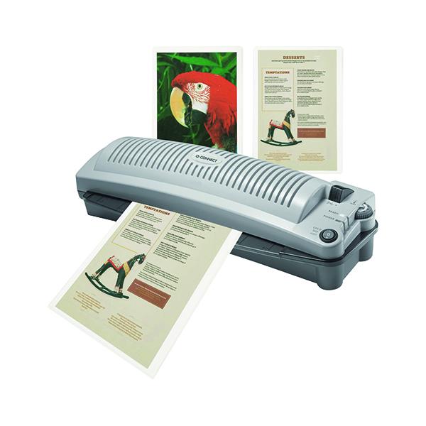 Laminating Film & Pockets Q-Connect Matt A4 Laminating Pouch 160 Micron (100 Pack) KF24057