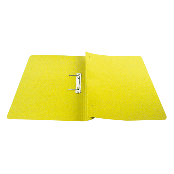 Files Q-Connect Transfer File 35mm Capacity Foolscap Yellow (25 Pack) KF26057
