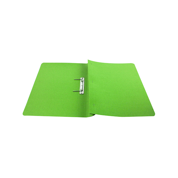 Files Q-Connect Transfer File 35mm Capacity Foolscap Green (25 Pack) KF26060