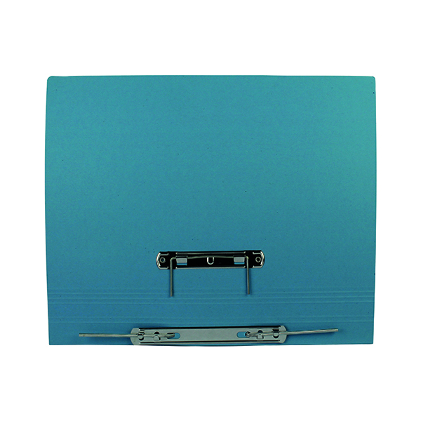 Files Q-Connect Transfer File 35mm Capacity Foolscap Blue (25 Pack) KF26061