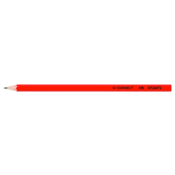 Black Lead Q-Connect HB Office Pencil (12 Pack) KF26072