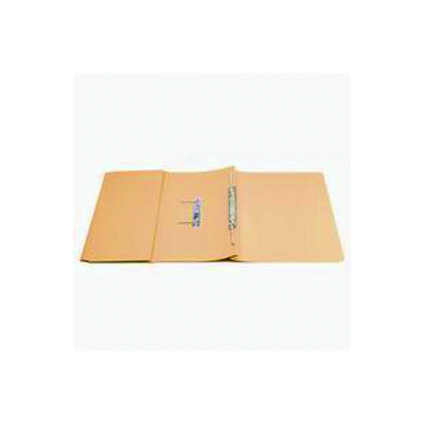 Files Q-Connect Transfer Pocket 35mm Capacity Foolscap File Orange (25 Pack) KF26097