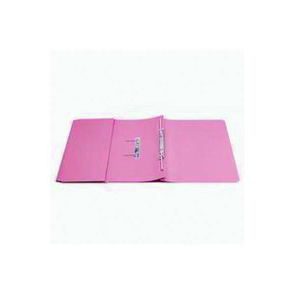 Q-Connect Transfer Pocket 35mm Capacity Foolscap File Pink (25 Pack) KF26098