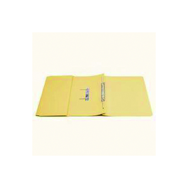 Q-Connect Transfer Pocket 35mm Capacity Foolscap File Yellow (25 Pack) KF26099