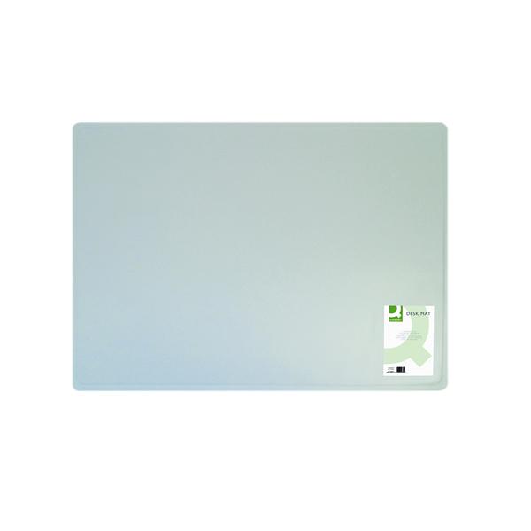 Q-Connect Desk Mat Clear KF26800