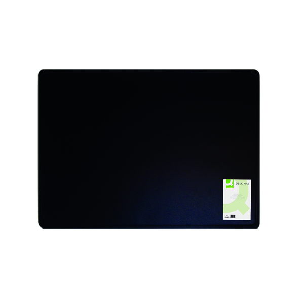 40x53cm Q-Connect Desk Mat Black KF26802