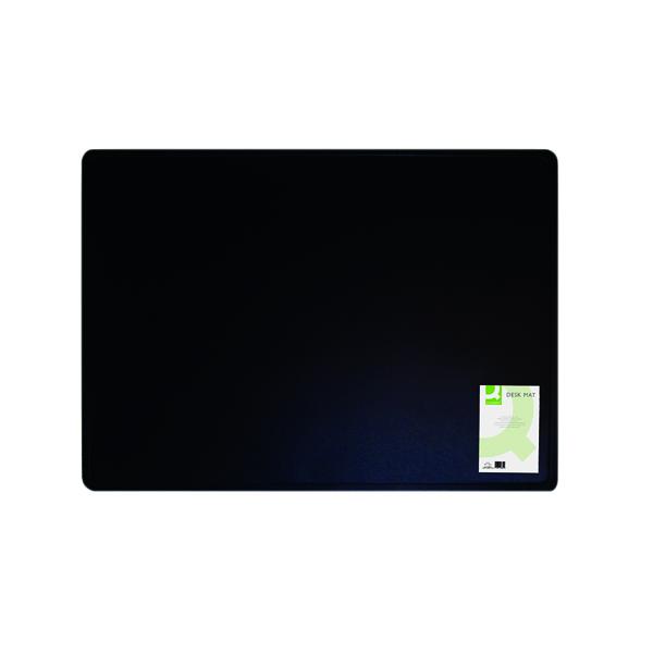 Q-Connect Desk Mat Black KF26802