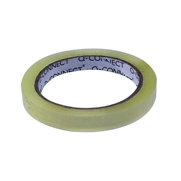 12/15mm Q-Connect Easy Tear 12mmx66m Polypropylene Tape KF27015X