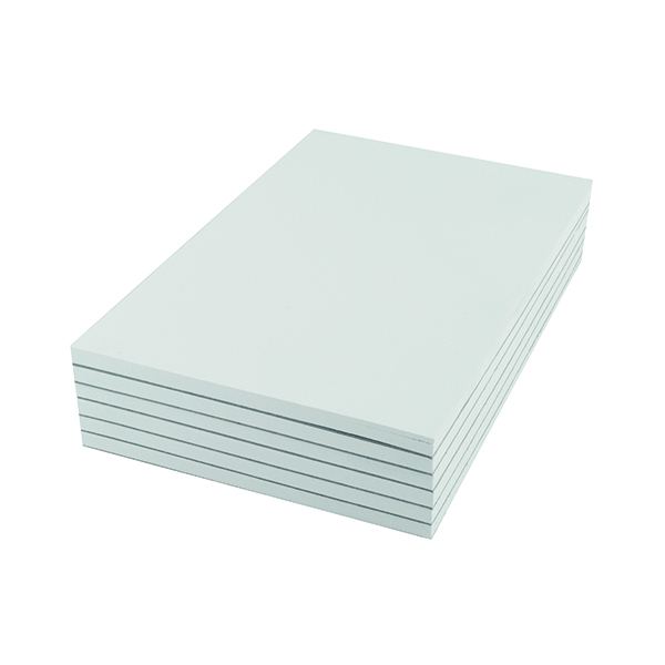 Plain Q-Connect Plain Scribble Pad 160 Pages 203x127mm (20 Pack) KF27019