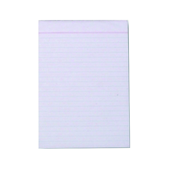 Q-Connect Ruled Scribble Pad 160 Pages 203x127mm (20 Pack) C60FW