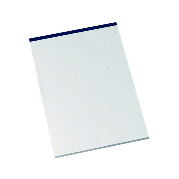 Ruled Q-Connect Narrow Ruled Board Back Memo Pad 160 Pages A4 (10 Pack) KF32006