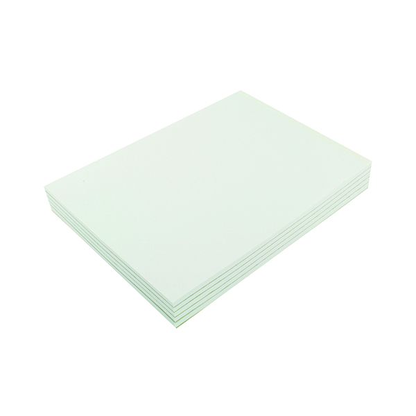 Plain Q-Connect Plain Board Back Memo Pad 160 Pages A4 (10 Pack) KF32007