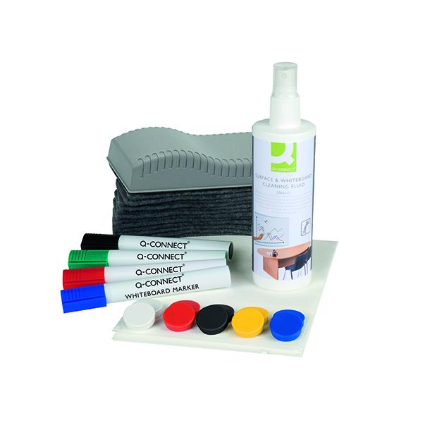 Pen Tray Q-Connect Whiteboard Starter Kit KF32153
