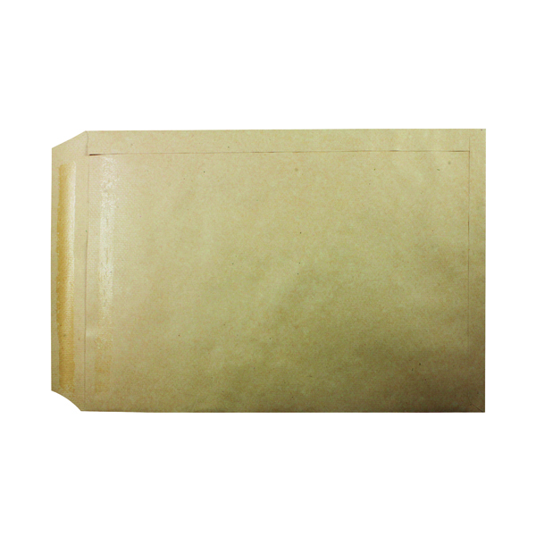Plain Q-Connect C3 Envelope 457x324mm Pocket Self Seal 115gsm Manilla (125 Pack) 2505