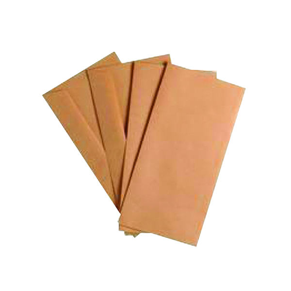 Manila Plain Q-Connect DL Envelopes Wallet Gummed 70gsm Manilla (1000 Pack) KF3413