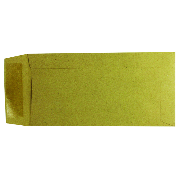 Manila Plain Q-Connect DL Envelopes Pocket Gummed 70gsm Manilla (1000 Pack) KF3414