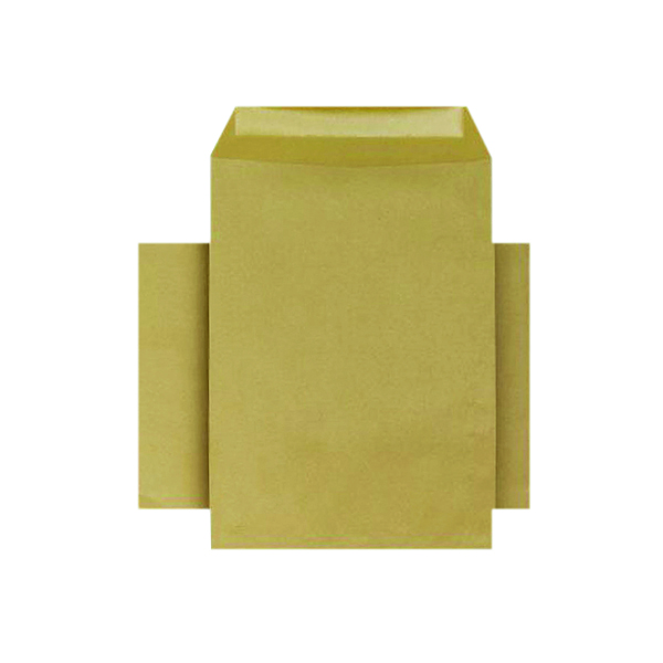 Q-Connect C4 Envelopes Pocket Gummed 80gsm Manilla (250 Pack) KF3428