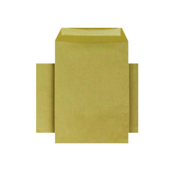 Q-Connect C4 Envelopes Pocket Gummed 80gsm Manilla (250 Pack) KF3428