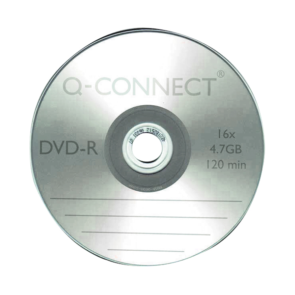 Q-Connect DVD-R Slimline Jewel Case 4.7GB KF34356