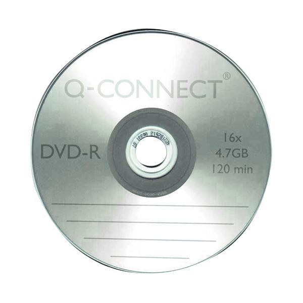 Blu Ray Q-Connect DVD-R Slimline Jewel Case 4.7GB KF34356