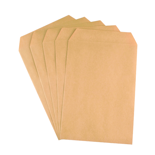 Q-Connect C5 Envelopes Pocket Self Seal 90gsm Manilla (500 Pack) X1074/01