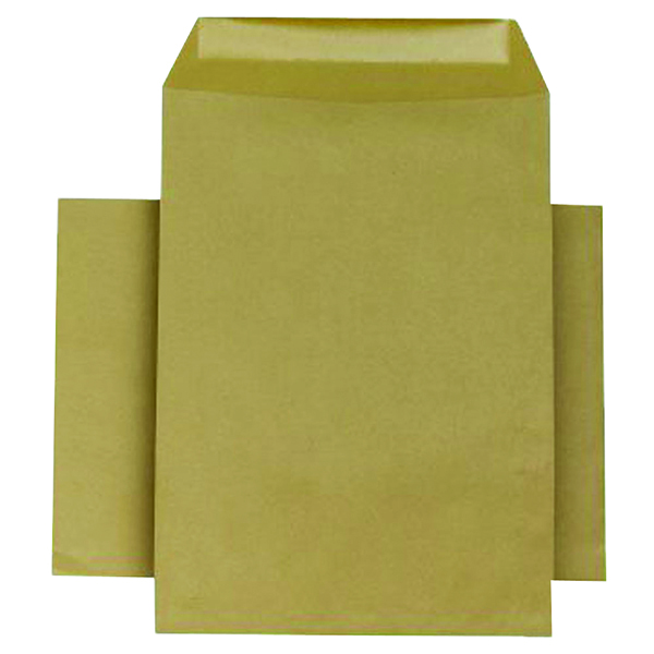 Plain Q-Connect Envelope 254x178mm Pocket Self Seal 90gsm Manilla (250 Pack) KF3445