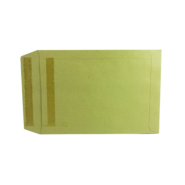 Plain Q-Connect Envelope 254x178mm Pocket Self Seal 115gsm Manilla (250 Pack) 8306