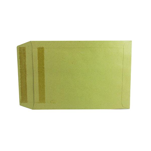 Q-Connect Envelope 254x178mm Pocket Self Seal 115gsm Manilla (250 Pack) 8306
