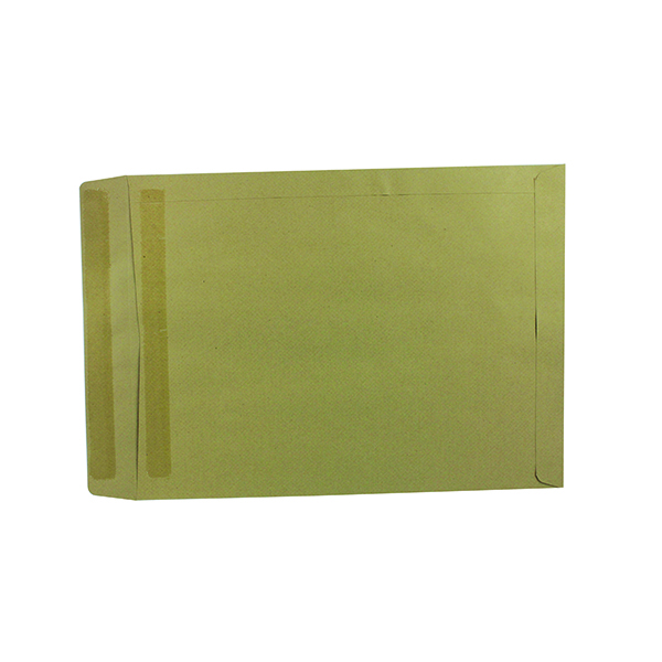 Q-Connect Envelope 406x305mm Pocket Self Seal 115gsm Manilla (250 Pack) 8313