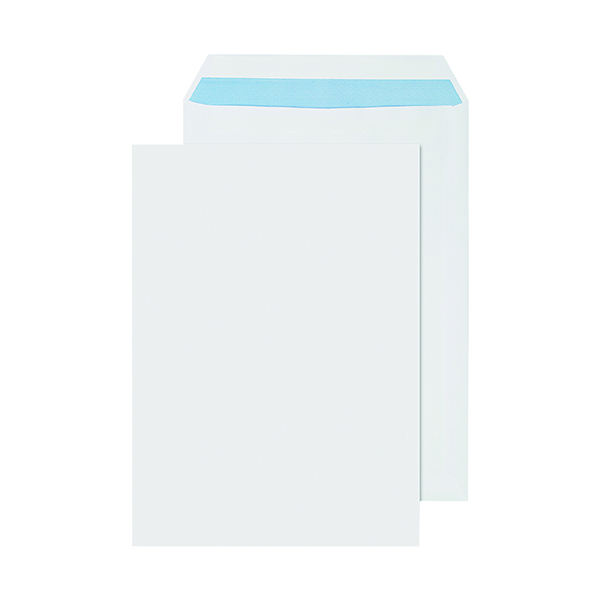 White Plain Q-Connect C4 Envelopes Self Seal 90gsm White (250 Pack) 2906