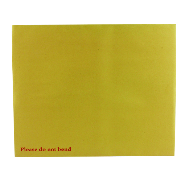Board Back Q-Connect Envelope 394x318mm Board Back Peel and Seal 115gsm Manilla (125 Pack) KF3522