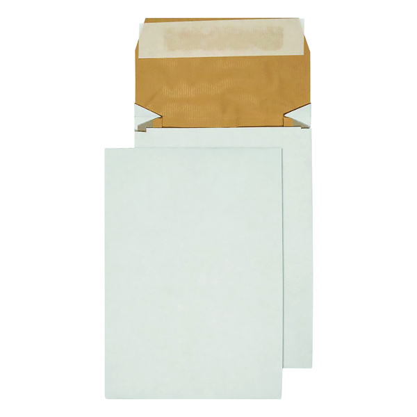 Q-Connect Padded Gusset Envelopes C5 229x162x50mm Peel and Seal White (100 Pack) KF3530