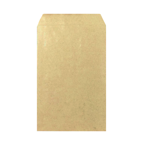 Manila Plain Q-Connect Envelope 406x305mm Pocket Self Seal 100gsm Manilla (250 Pack) KF3536